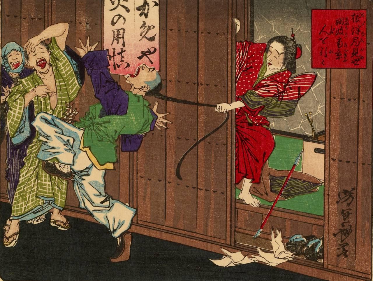 Секс в жизни самурая