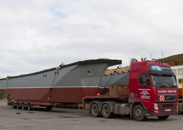 В Мурманске готов к спуску модульный поисково-спасательный катер