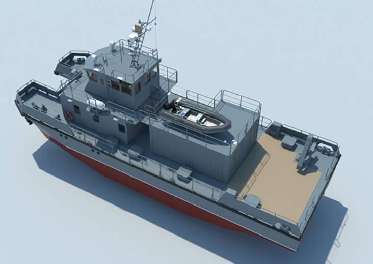 ВМурманске собрали поисково-спасательный катер для Северного флота
