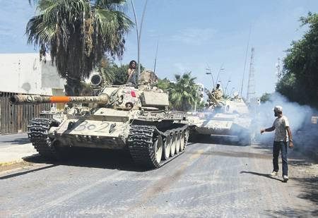 Ливия вновь становится горячей точкой