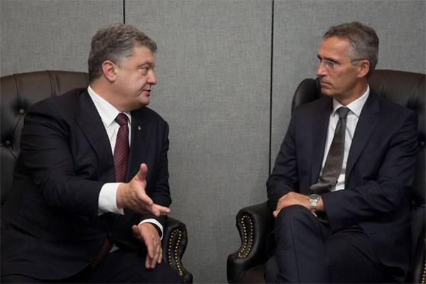 Порошенко написал письмо в НАТО