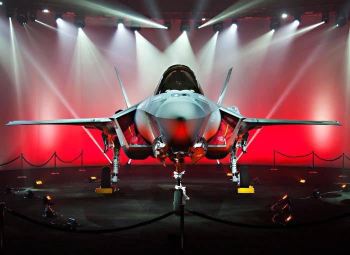 Японцы получили первый F-35A
