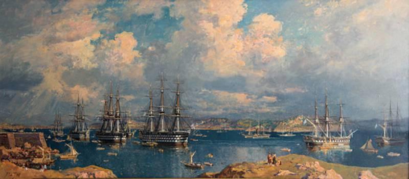Как русская эскадра султана спасала. Босфорская экспедиция 1833 г.