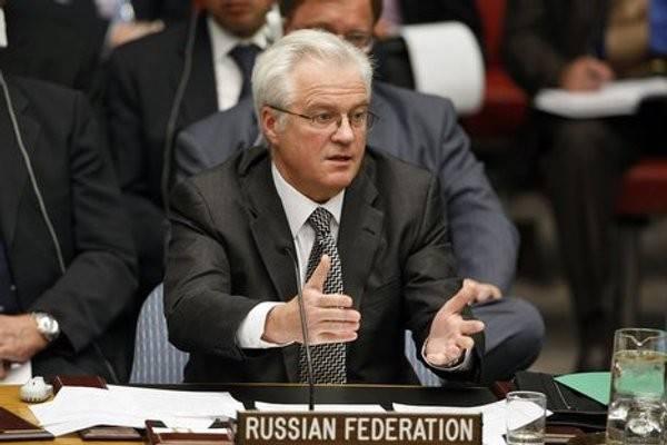 "Виталий Чуркин: ""Сирию бомбят все кому не лень"""