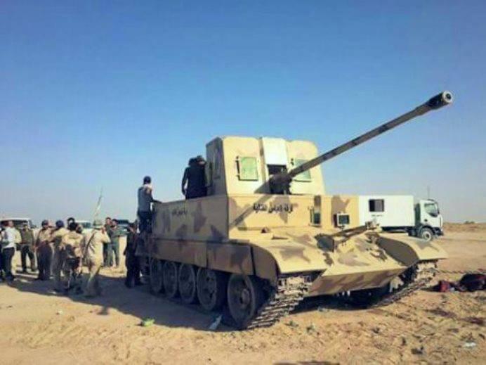 Иракская «машина огневой поддержки» с пушкой С-60