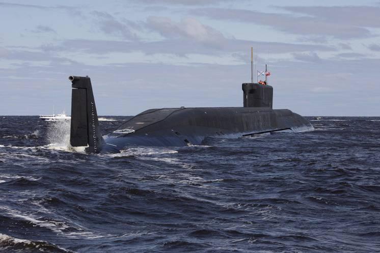 «Юрий Долгорукий» выполнил залповый пуск ракет по полигону на Камчатке