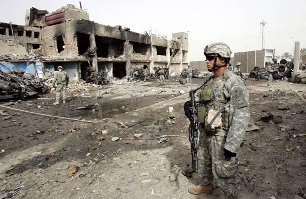 """США """"поддержат"""" Ирак отправкой 615 военнослужащих к Мосулу"""