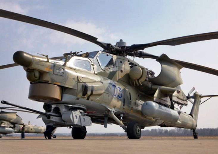 До конца года в ЗВО поступит партия вертолётов Ми-28Н и Ми-35М