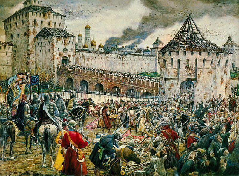 Как рать Пожарского и Трубецкого освободила Москву от польских интервентов