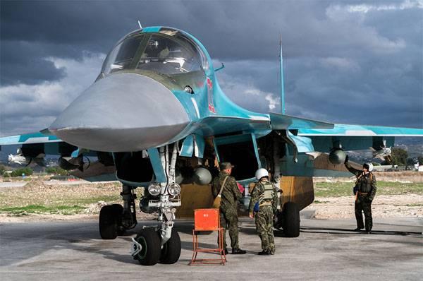 ВКС РФ расширяют авиагруппу в Сирии