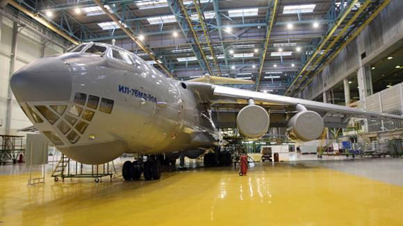 Ил-76МД-90А получил новые радиоэлектронные системы