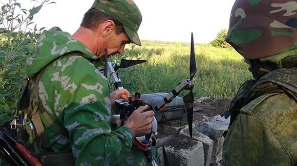Российские спецназовцы испытают миникоптеры, оснащённые тепловизорами