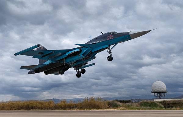 Совместная операция ВКС РФ и ВВС Сирии в провинции Хама