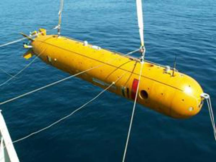 """Projects of autonomous uninhabited underwater vehicles of the """"Harpsichord"""" family"""