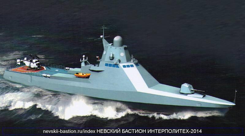 Первый патрульный корабль проекта 22160 будет передан ВМФ в следующем году