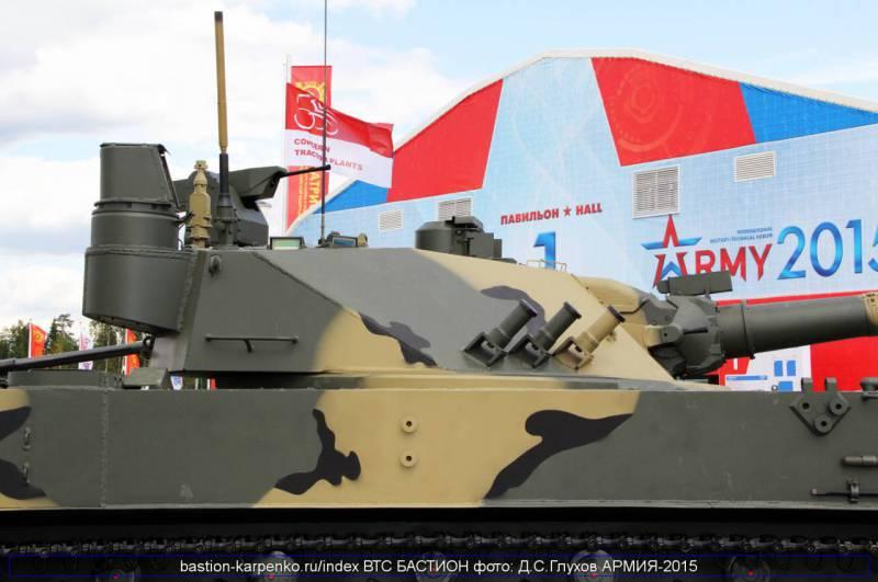 СПТП 2С25М «Спрут-СДМ1» получает обновленное вооружение и системы управления им