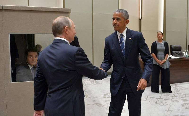 Путин-Обама. 70-минутный очный поединок