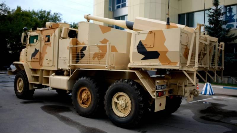 Новейшее 120-мм самоходное артиллерийское орудие «Флокс»