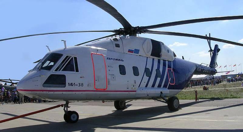 Первая партия вертолётов Ми-38 для Минобороны составит от 10-ти до 20 единиц