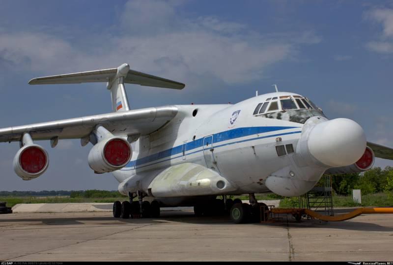 СМИ: в РФ создаётся самолёт с лазерным оружием нового поколения