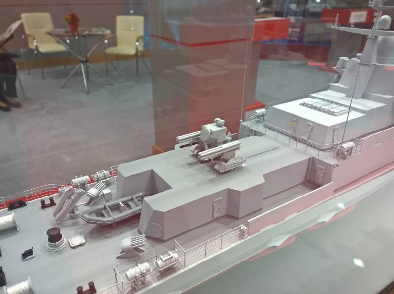 ОСК представила модель малого ракетного корабля проекта 22800