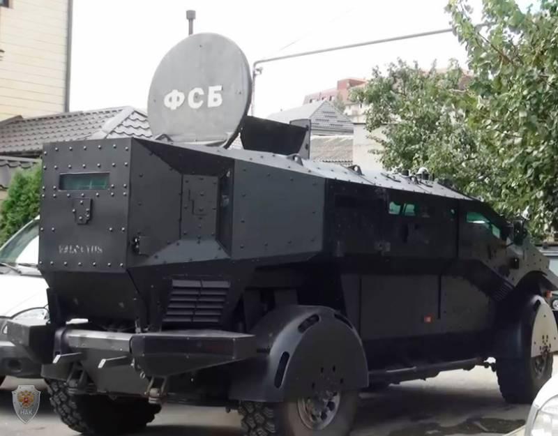 Видеозапись использования «Фалькатуса» в Дагестане при нейтрализации членов бандитского подполья