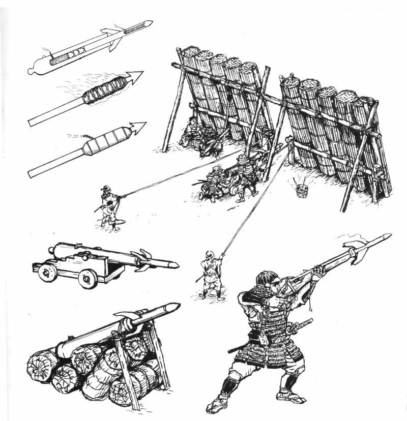 Асигару в рисунках «Армор моделлинг»