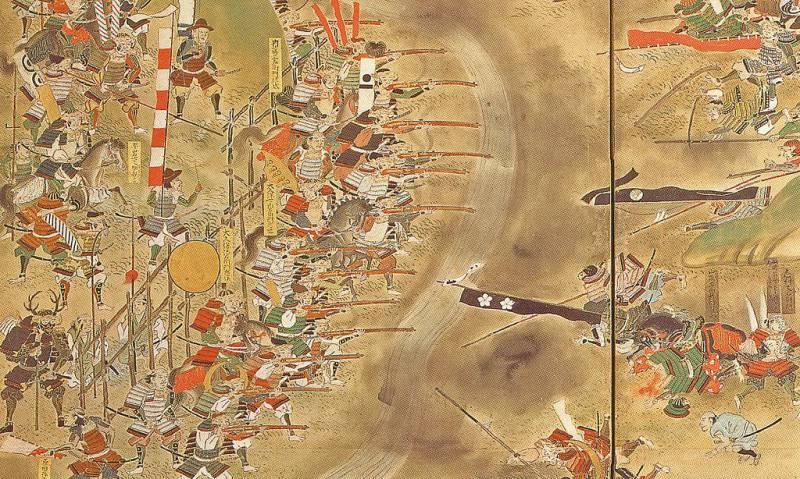 Битва при Нагасино: пехота против всадников
