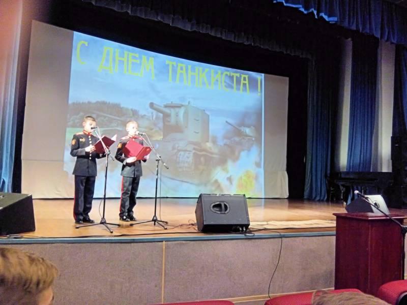 Юбилейный 70-й День танкиста прошел в Московском суворовском военном училище