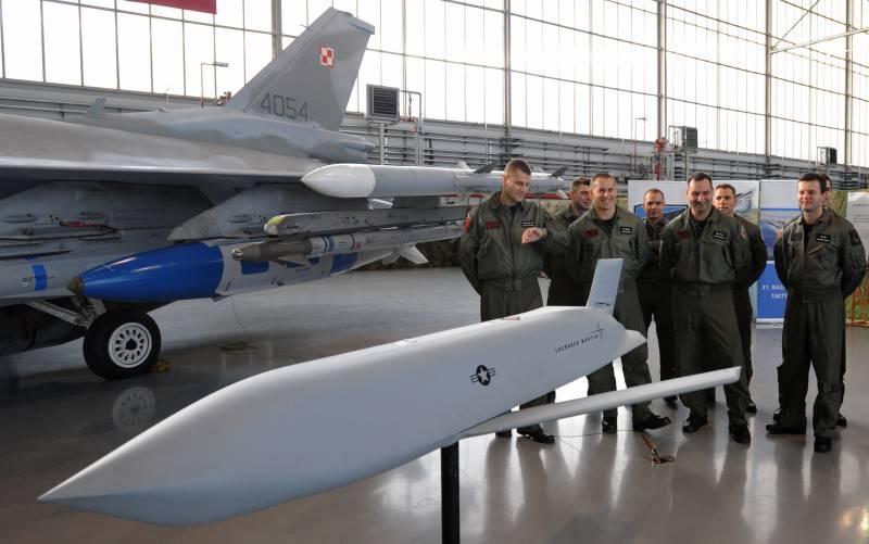 Высокоточные JASSM на вооружении польских F-16C: оценка степени угрозы на западном ВН к началу 2017 года