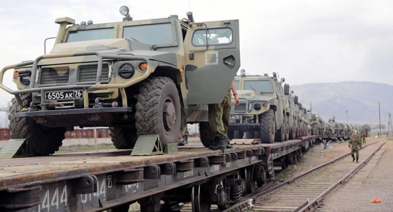 Российские военные прибыли в Киргизию на учение ШОС «Мирная миссия-2016»