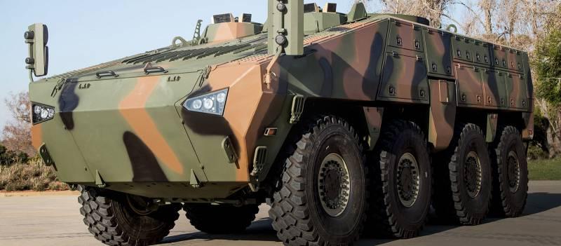 Проект бронетранспортера «Барыс» (Казахстан / ЮАР / Россия)