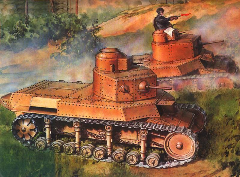 Т-24 – танк, обогнавший свое время
