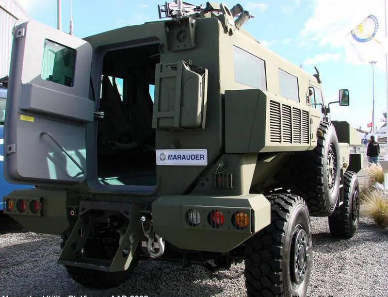 Бронеавтомобиль «Арлан» (Казахстан / ЮАР)