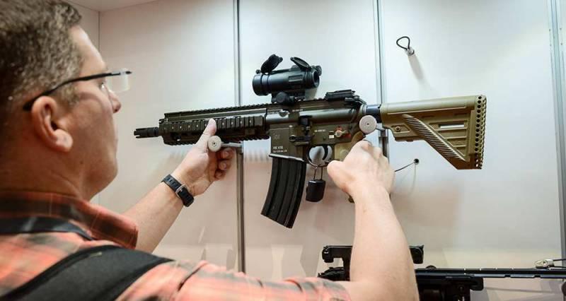 СМИ: французское командование выбрало винтовку Heckler & Koch HK416