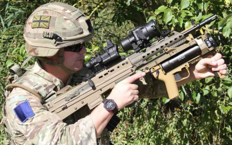 Британские военные объявили о тестировании новой версии стрелкового оружия и броневой защиты военнослужащих