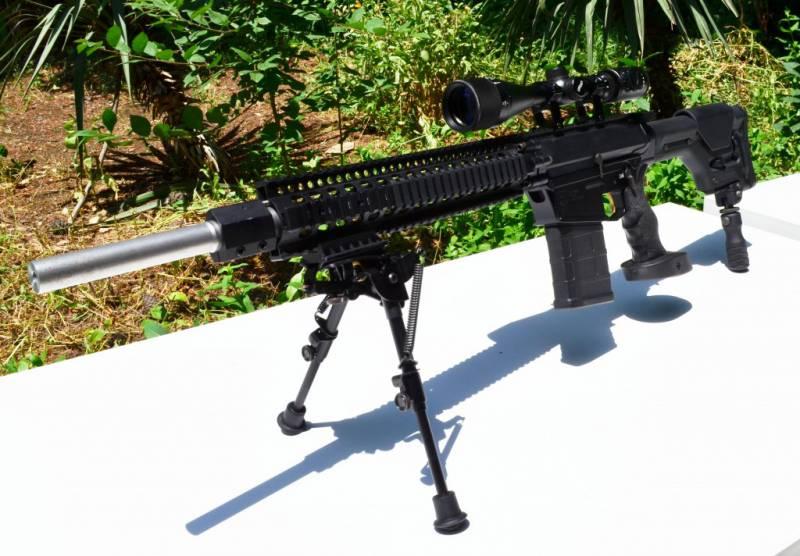Грузинская снайперская винтовка DELTA-308
