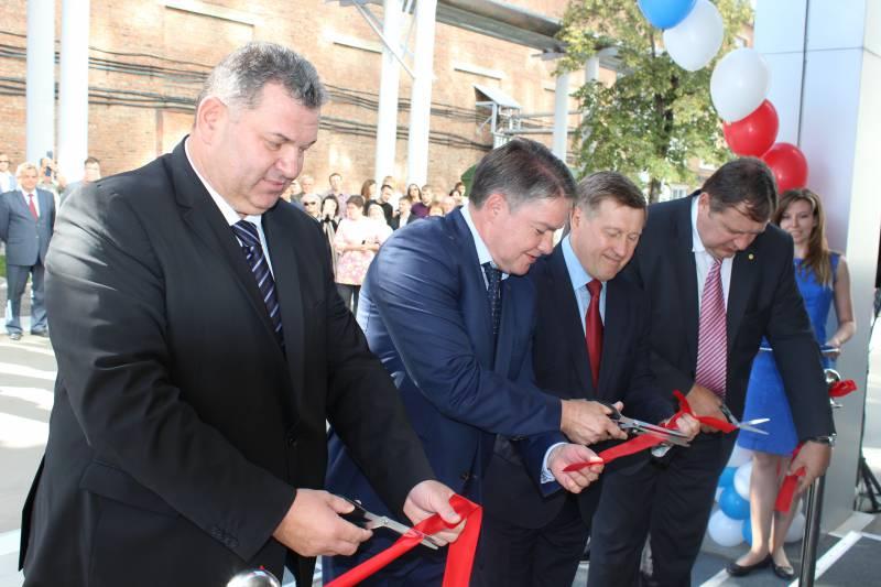«Техмаш» открыл новый производственный комплекс