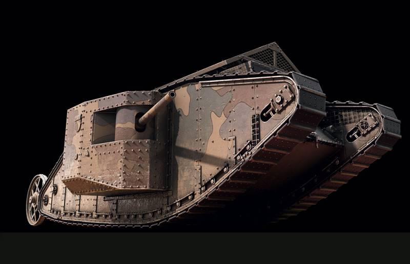 Первые в мире танки: ко дню рождения машины смерти