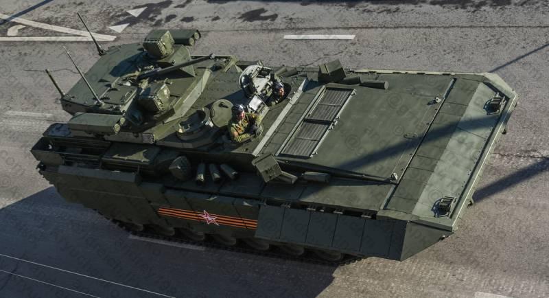 Для российских новейших бронемашин создан комплекс оптико-электронного противодействия