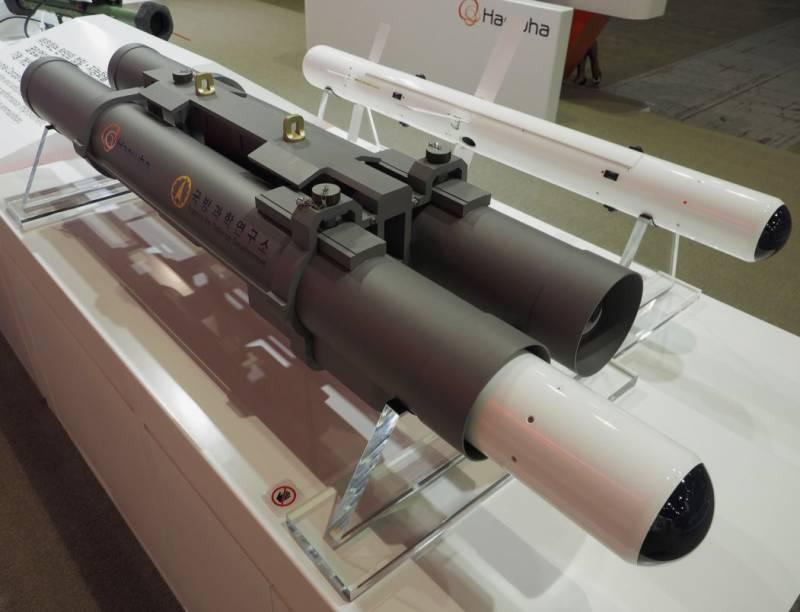 В Южной Корее представлена перспективная противотанковая ракета