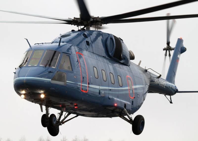 Начата разработка военных модификаций вертолета Ми-38