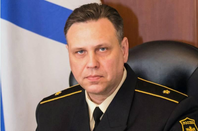 Контр-адмирал С.Пинчук назначен командующим Каспийской флотилией ВМФ РФ