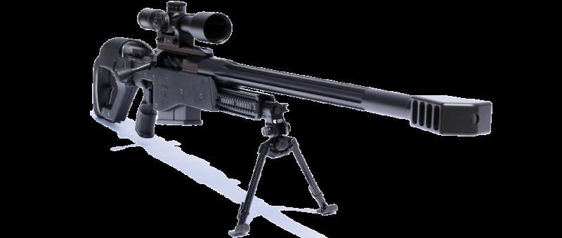 Крупнокалиберная снайперская винтовка Truvelo CMS 12.7x99 mm (ЮАР)