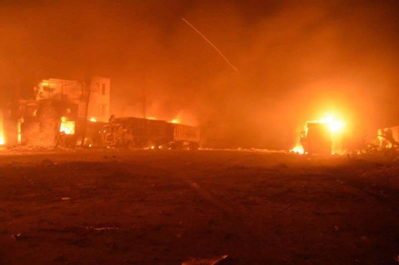 """Подробный комментарий МО РФ по поводу """"обстрела"""" гуманитарной миссии ООН в Сирии"""