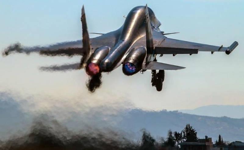 Российские ВКС усилили бомбардировки объектов террористических группировок в Сирии