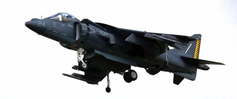 Американский самолёт упал в море в японской провинции Окинава