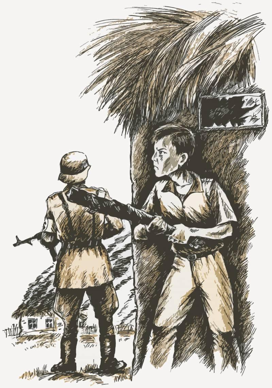 Мальчишка, спасший партизан (о Саше Бородулине)