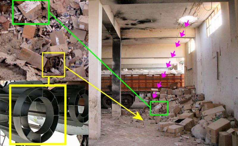 """Фотофейки Bellingcat об """"атаке ВКС РФ или ВВС САР"""" на колонну ООН в районе Алеппо"""