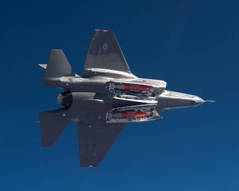 На F-35 произошло возгорание во время тренировочных полётов